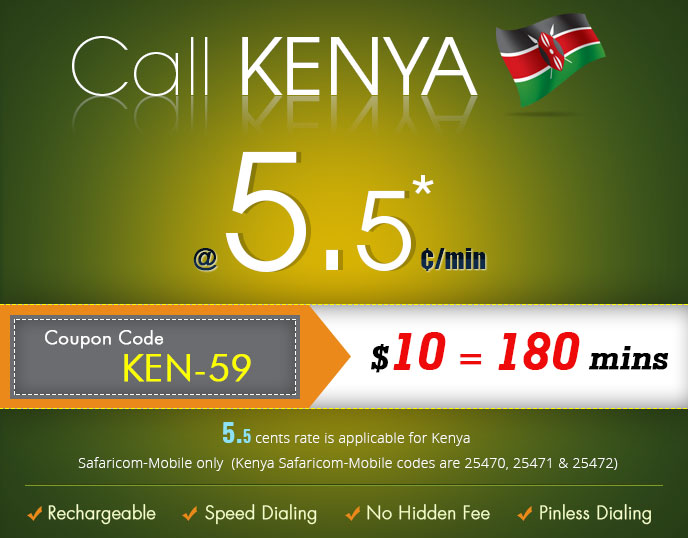 call kenya - International Calling Cards