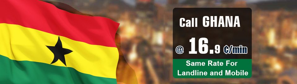 Cheap phone calling card Ghana