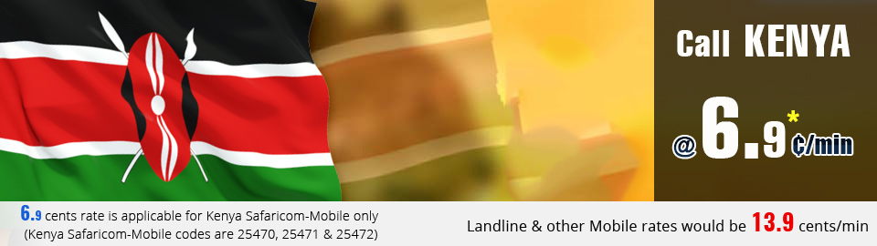 Cheap phone calling card Kenya
