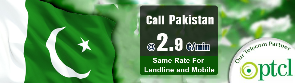 Cheap phone calling card Pakistan